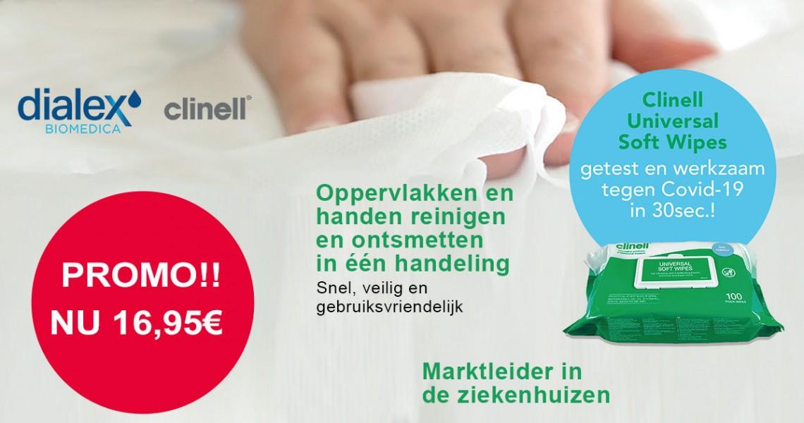PRODUCT IN DE KIJKER: CLINELL