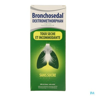 BRONCHOSEDAL DEXTROMETHORP SIR 200 ML