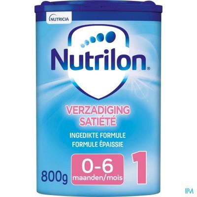 NUTRILON VERZADIGING SATISFA+ 1 EASYPACK  PDR 800G