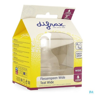 DIFRAX FLESSENSPEEN NATURAL WIDE LARGE         678