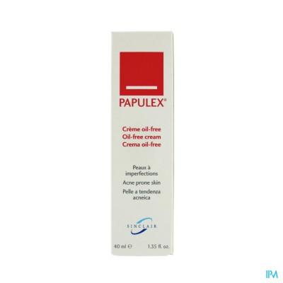 PAPULEX CREME OIL FREE ACNEHUID TB40ML VERV2356954