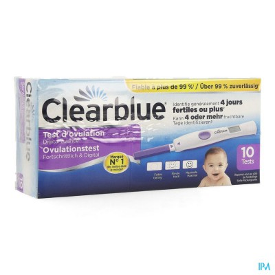 Clearblue Advanced Ovulatietest 10 Promo -5€