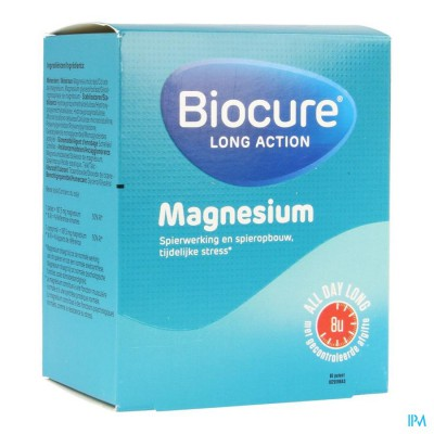BIOCURE LONG ACTION MAGNESIUM             COMP  60