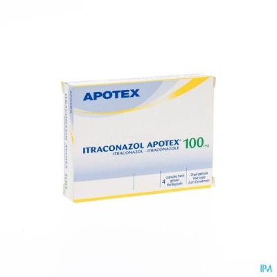 ITRACONAZOL APOTEX 100 MG CAPS  4