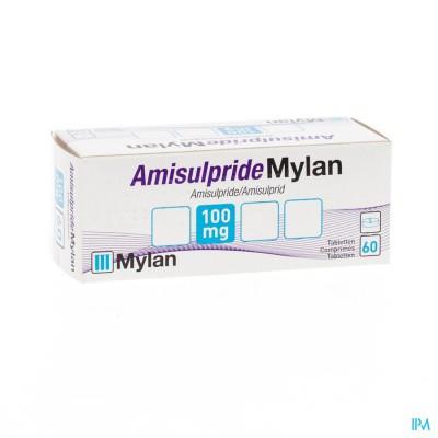 AMISULPRIDE MYLAN 100MG TABL  60X100MG