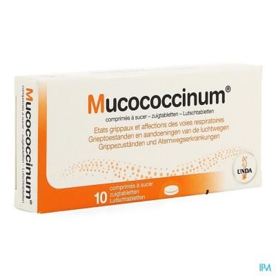 MUCOCOCCINUM    COMP 200 BLISTER 10 UNDA