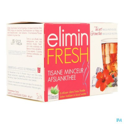 THEE ELIMIN FRESH HIBISC/R VRUCHT INF 24
