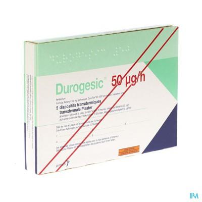 DUROGESIC PL EMP  5X 50MCG/HEURE/UUR