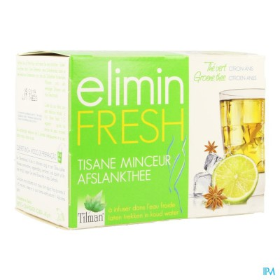 ELIMIN FRESH CITROEN-ANIJS TEA-BAGS 24