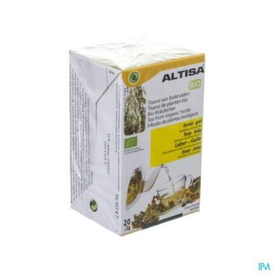 ALTISA TISANE LEVER-GAL BIO FILT.20X2G