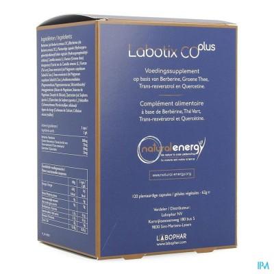 LABOTIX CO PLUS NATURAL ENERGY          V-CAPS 120