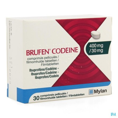 BRUFEN CODEINE 400MG/30MG FILMOMH TABL  30