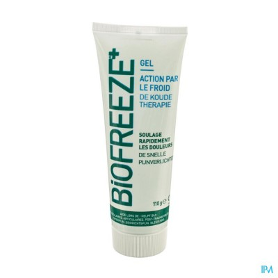 BIOFREEZE+ PAIN RELIEVING GEL TUBE 110G