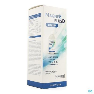 MAGNE B PLUS D LIQUID         500ML