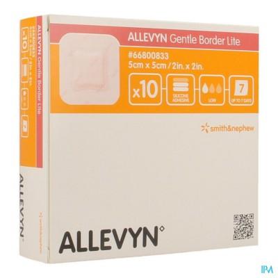 ALLEVYN GENTLE BORDER LITE  5,0X 5,0CM 10 66800833
