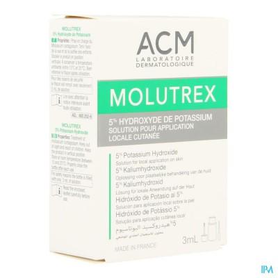 MOLUTREX 5% OPL CUTAAN      FL  3ML