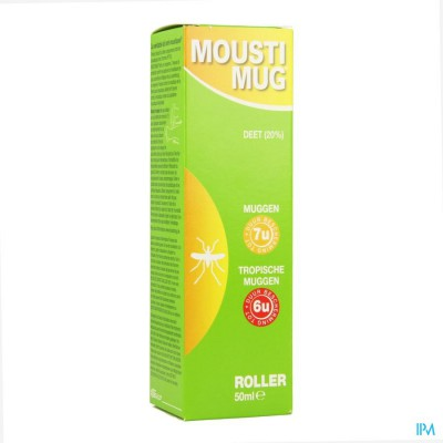 MOUSTIMUG  A/MUGGENMELK ROLLER 50ML