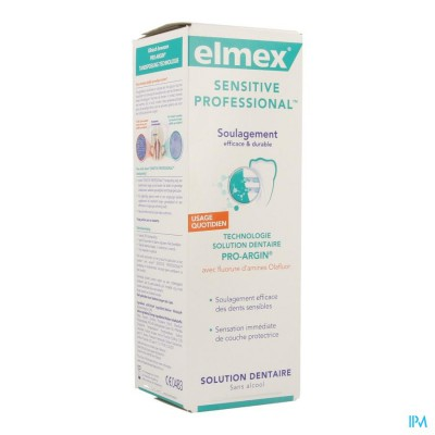 ELMEX SENSITIVE PROF MONDWATER 400 ML