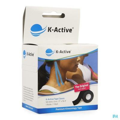 NAQI K ACTIVE TAPE BLACK 5,0CMX 5M