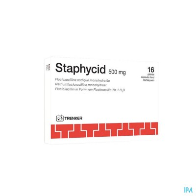 STAPHYCID CAPS  16X500MG