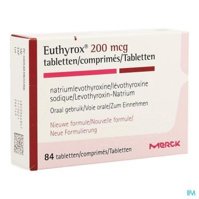 EUTHYROX 200MCG COMP  84 NF