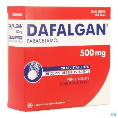DAFALGAN BRUIS 500MG TABL 20