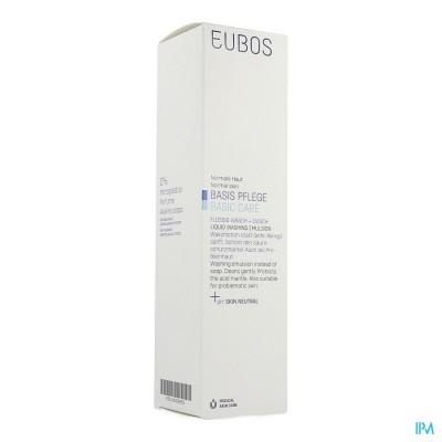 EUBOS ZEEP VLOEIBAAR BLAUW N/PARF        400ML