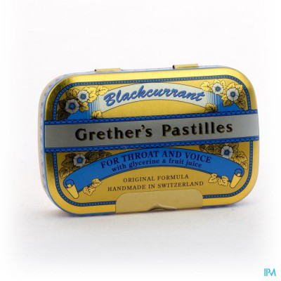 BLACKCURRANT GRETHERS DRAG 60G