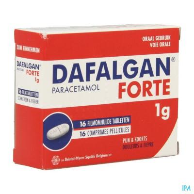 DAFALGAN FORTE DROOG 1G TABL 16