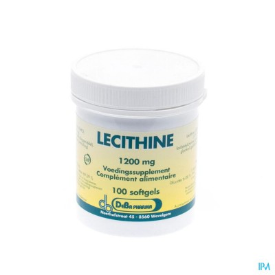 Lecithine Caps 100x1200mg Deba