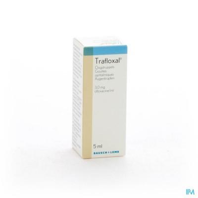 TRAFLOXAL COLLYRE 5 ML  3MG/ML