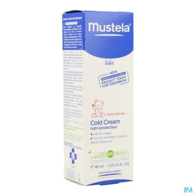 MUSTELA BABY COLD CREM NUTRI BABY 40 ML