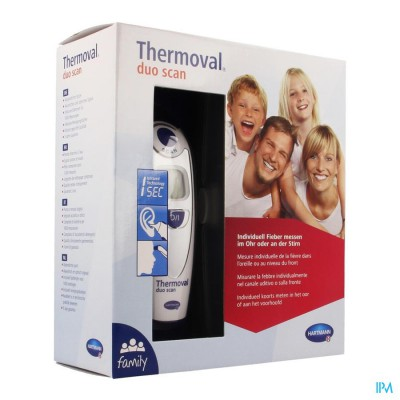 HARTMANN THERMOMETER OOR THERM DUO SCAN