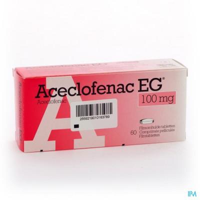 ACECLOFENAC EG 100 MG FILMOMH TABL  60 X 100 MG