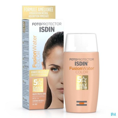 ISDIN FOTOPROTECTOR FUSION WATER COLOR IP50 50ML