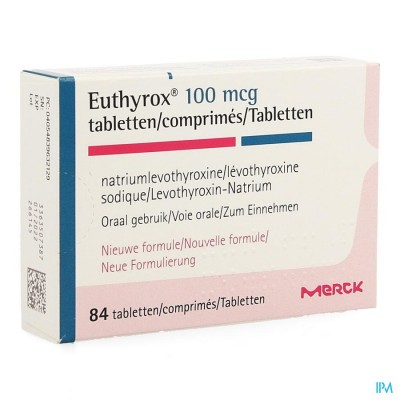 EUTHYROX 100MCG COMP  84 NF