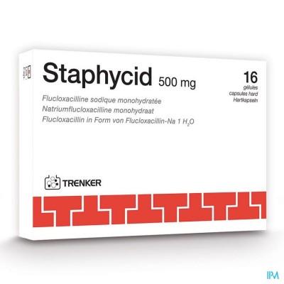 STAPHYCID CAPS  16X500MG