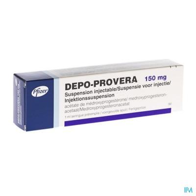 DEPO-PROVERA 150 SER 1 X 150MG/1ML