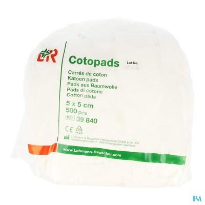 COTOPADS KATOEN                   5X 5CM 500 39840