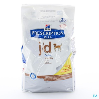 HILLS PRESCRIP.DIET CANINE JD           12KG 4648M