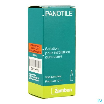PANOTILE GUTT. OTIC. 10 ML