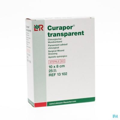CURAPOR TRANSPARANT STERIEL    10CMX 8CM  25 13102