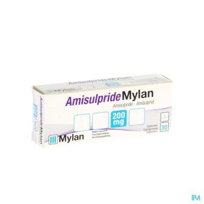 AMISULPRIDE MYLAN 200MG TABL  30X200MG