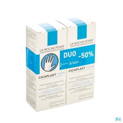 LRP DUO CICAPLAST HANDCREME 2X50ML 2E-50%