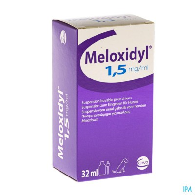 MELOXIDYL CEVA 1,5MG/ML FL GUTT 32ML