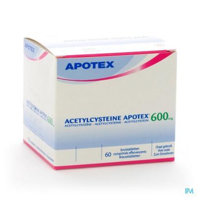 ACETYLCYSTEINE APOTEX COMP EFF 60 X 600 MG