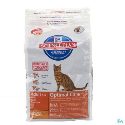 HILLS SC.PLAN FELINE ADULT CHICKEN      2KG 8736EA