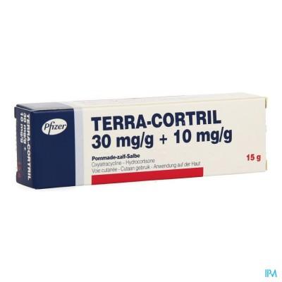 TERRA-CORTRIL UNG. DERM. 15 G