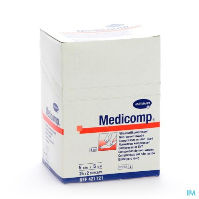 MEDICOMP KP STER 4PL          5X  5CM 25X2 4217216