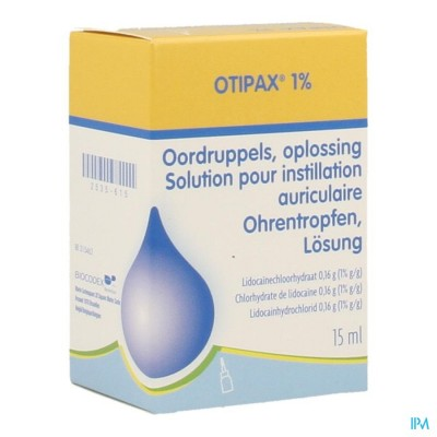 OTIPAX 1 % FL 15 ML